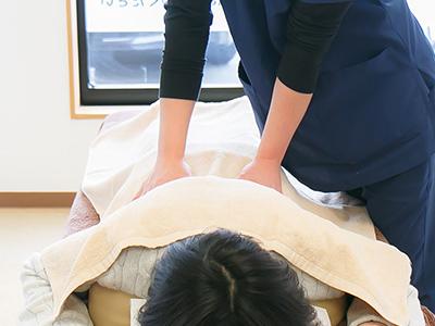 ぎっくり腰、慢性腰痛、肩こり専門整体コース画像