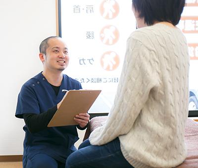 保険治療(腰・肩・首・膝の痛み、ケガ、スポーツ外傷)画像